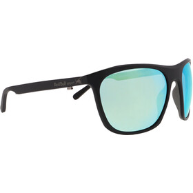 Red Bull SPECT Rocket Sunglasses Men, matt black/green-aqua mirror